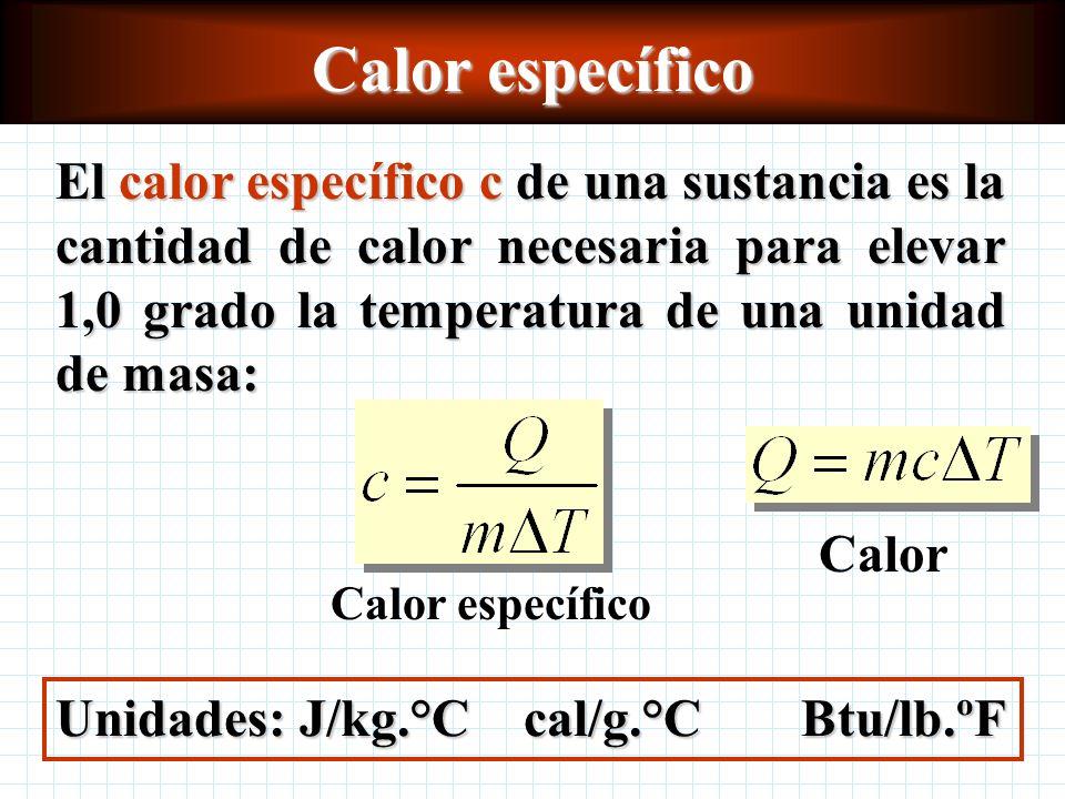 Calor específico