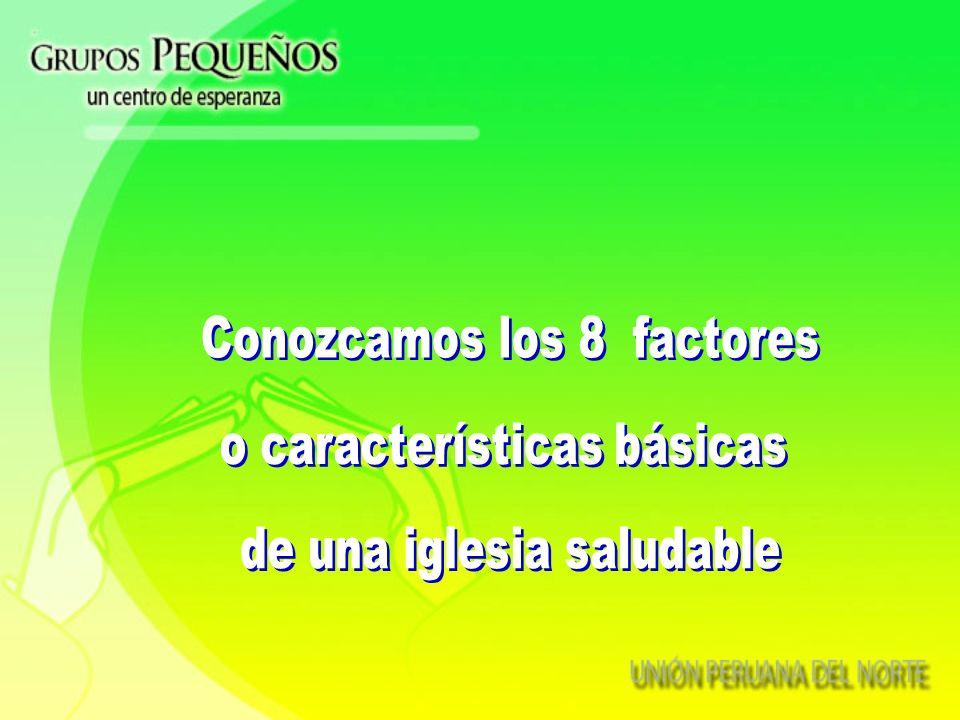 Conozcamos los 8 factores o características básicas