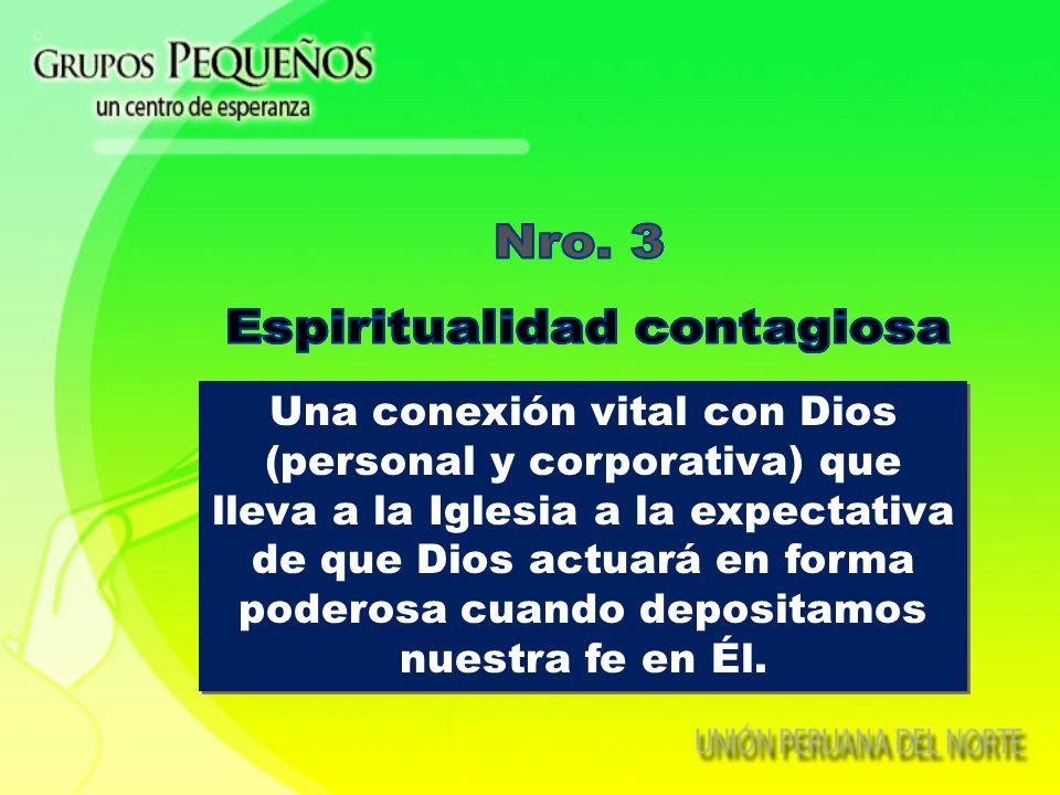 Espiritualidad contagiosa