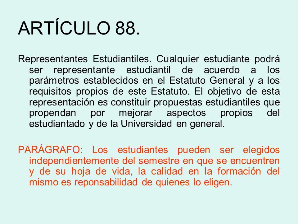 ARTÍCULO 88.