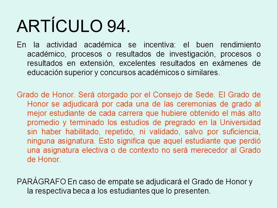 ARTÍCULO 94.