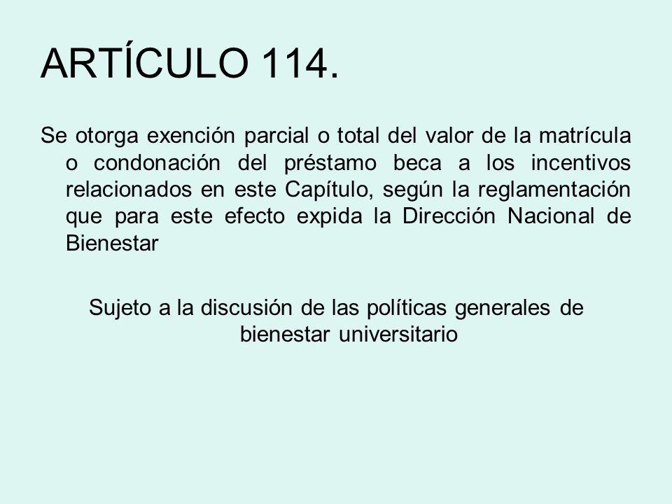 ARTÍCULO 114.