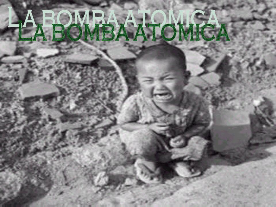La bomba atomica