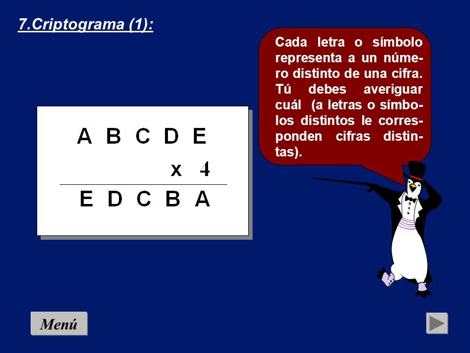7.Criptograma (1):