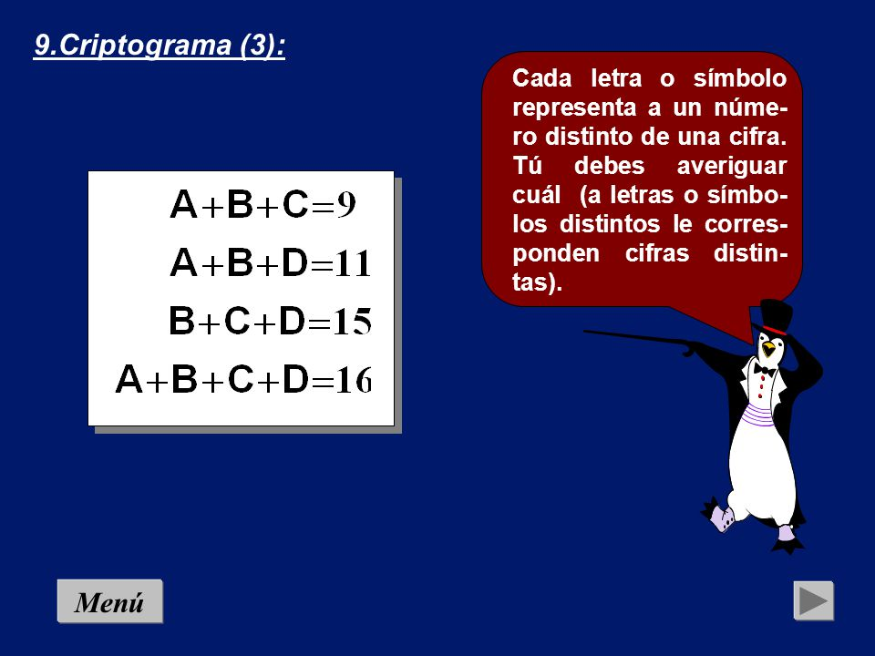 9.Criptograma (3):
