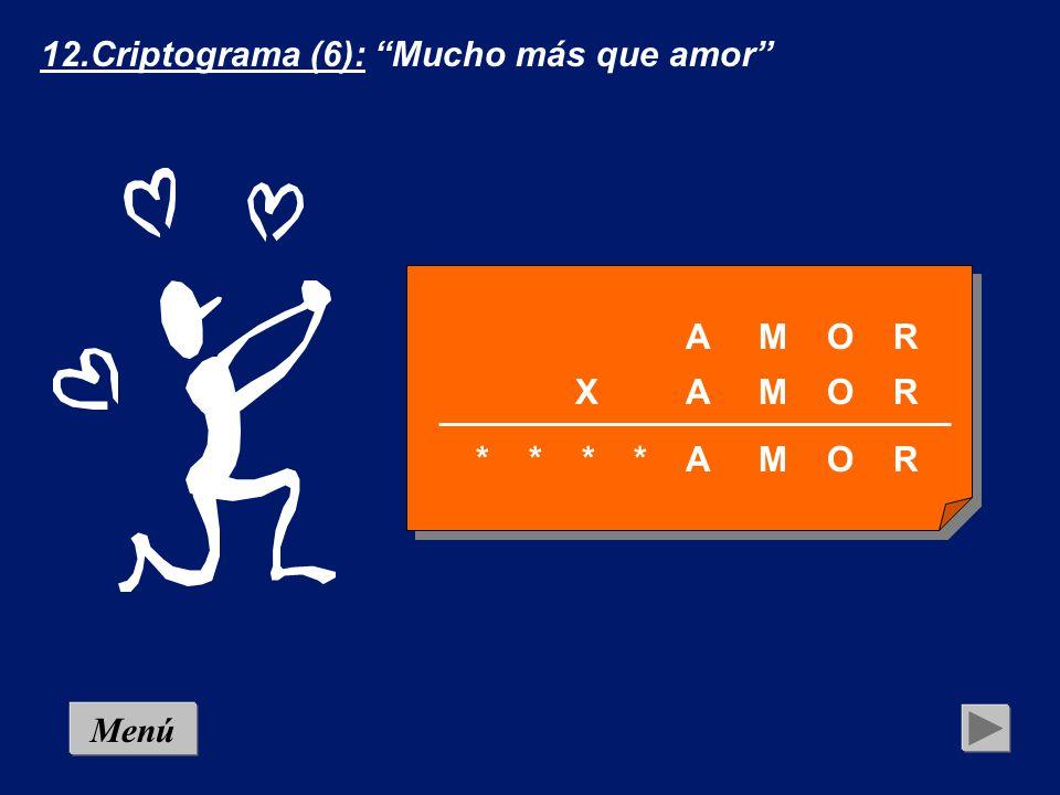12.Criptograma (6): Mucho más que amor