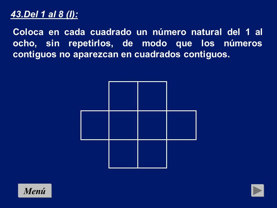 43.Del 1 al 8 (I):