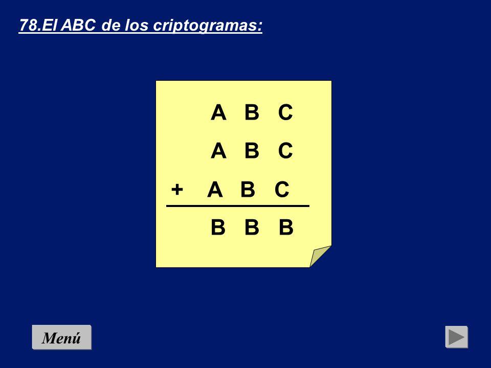 78.El ABC de los criptogramas: