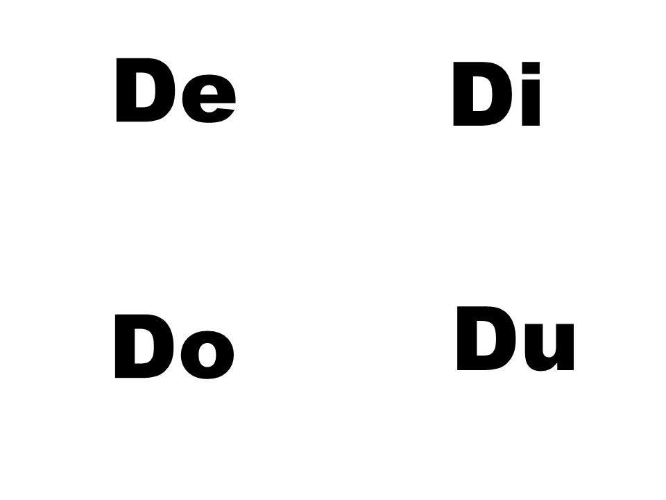 De Di Du Do