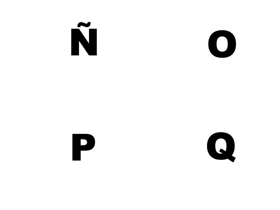 Ñ O P Q
