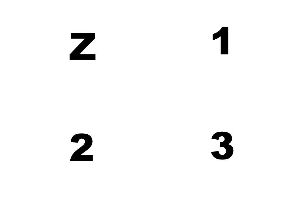 1 Z 2 3