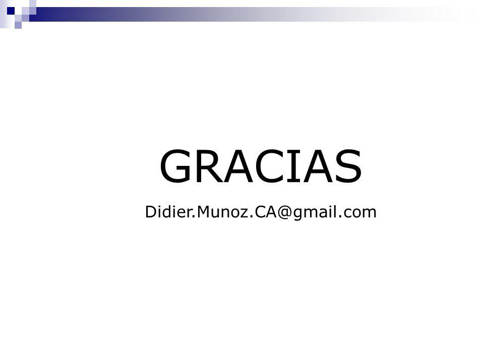GRACIAS Didier.Munoz.CA@gmail.com