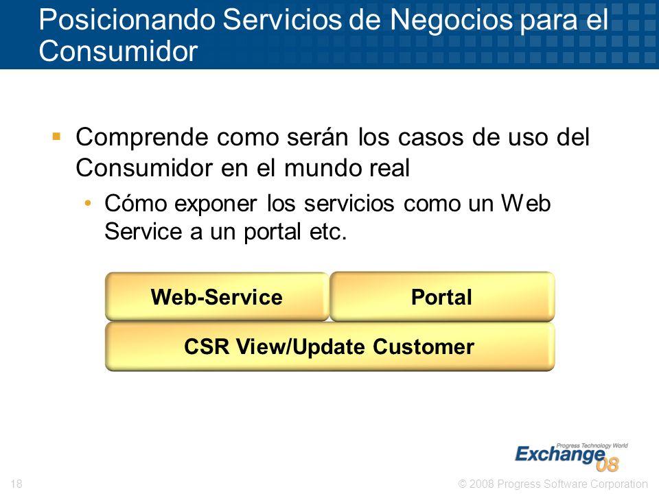 Posicionando Servicios de Negocios para el Consumidor