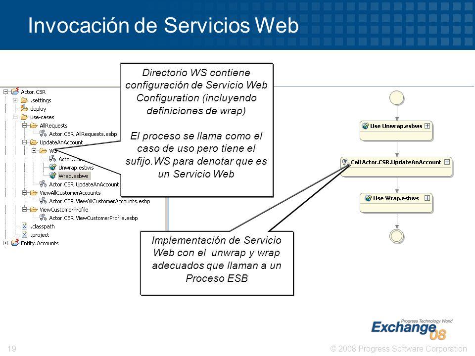 Invocación de Servicios Web