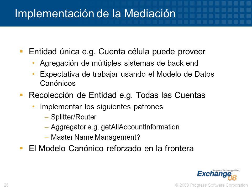 Implementación de la Mediación