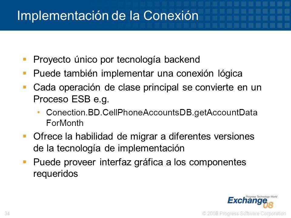 Implementación de la Conexión