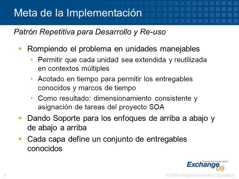 Meta de la Implementación