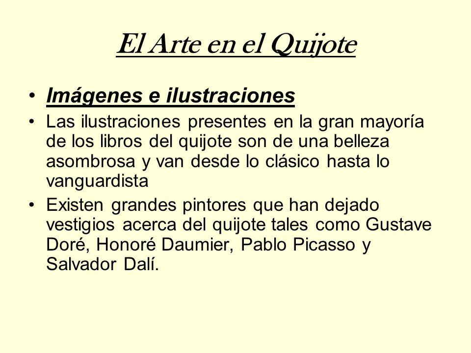 El Arte en el Quijote Imágenes e ilustraciones