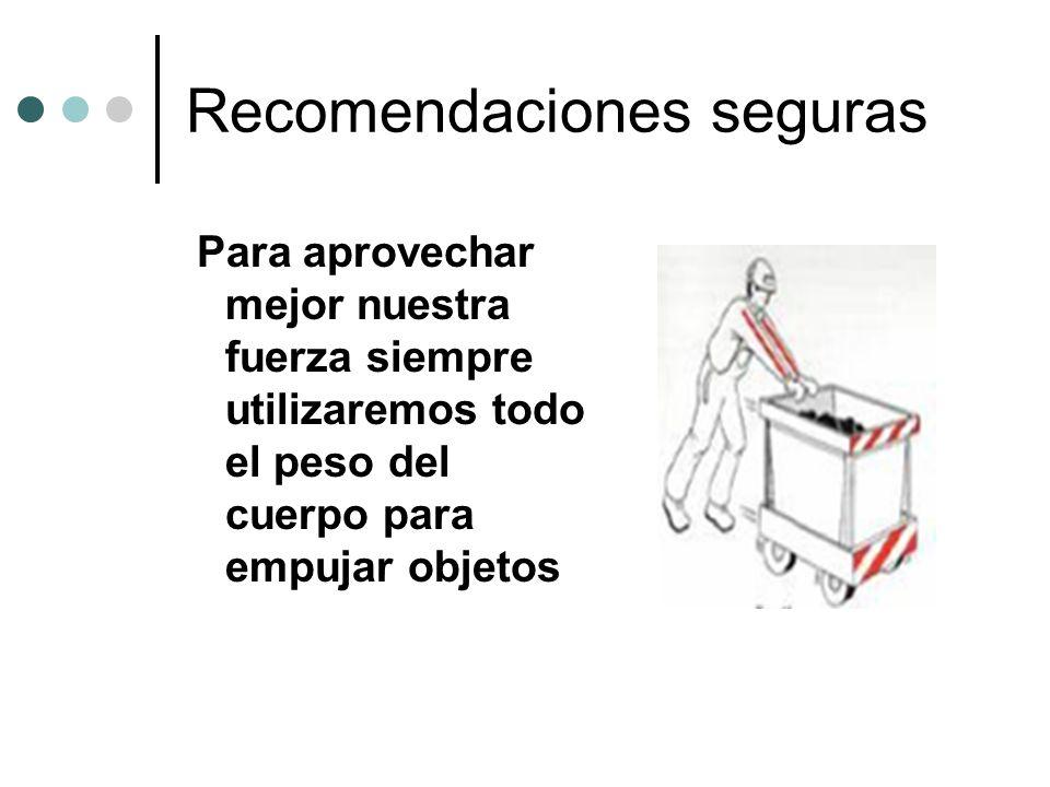 Recomendaciones seguras