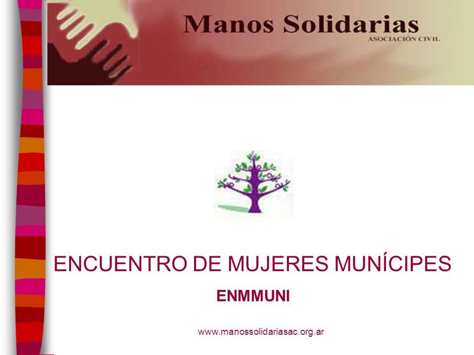 ENCUENTRO DE MUJERES MUNÍCIPES