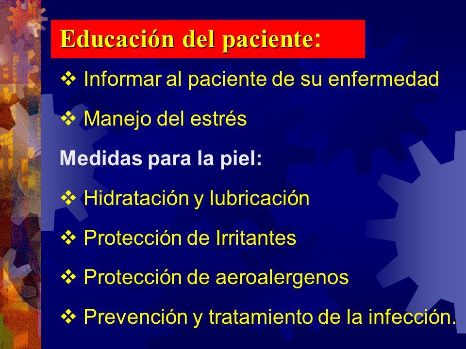 Educación del paciente: