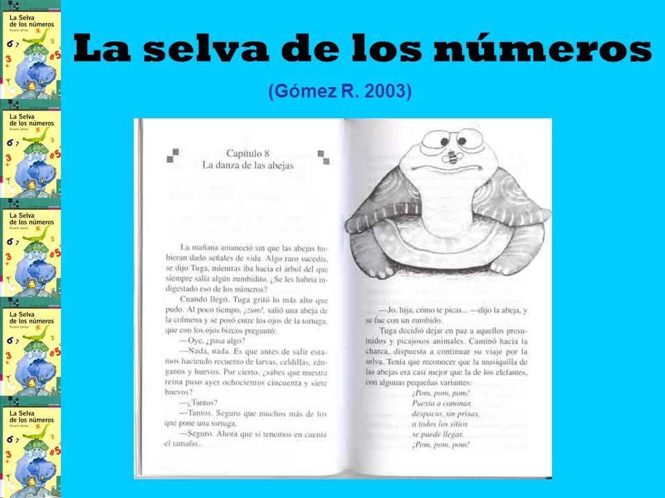 La selva de los números (Gómez R. 2003) CIANEI2007