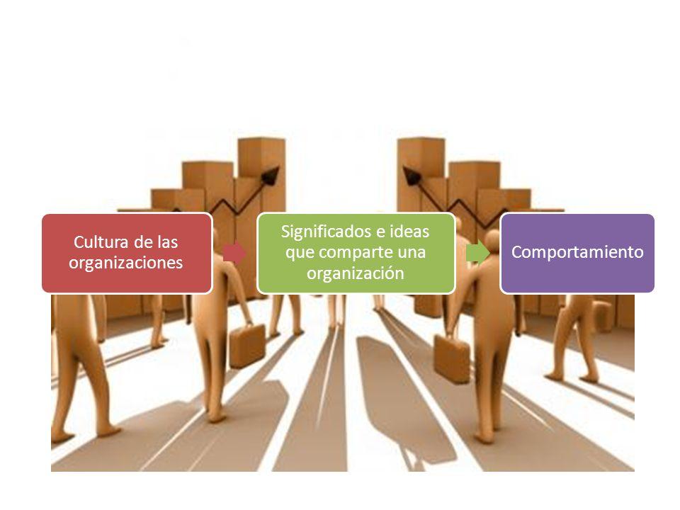 Cultura de las organizaciones