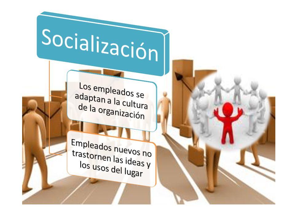 Los empleados se adaptan a la cultura de la organización