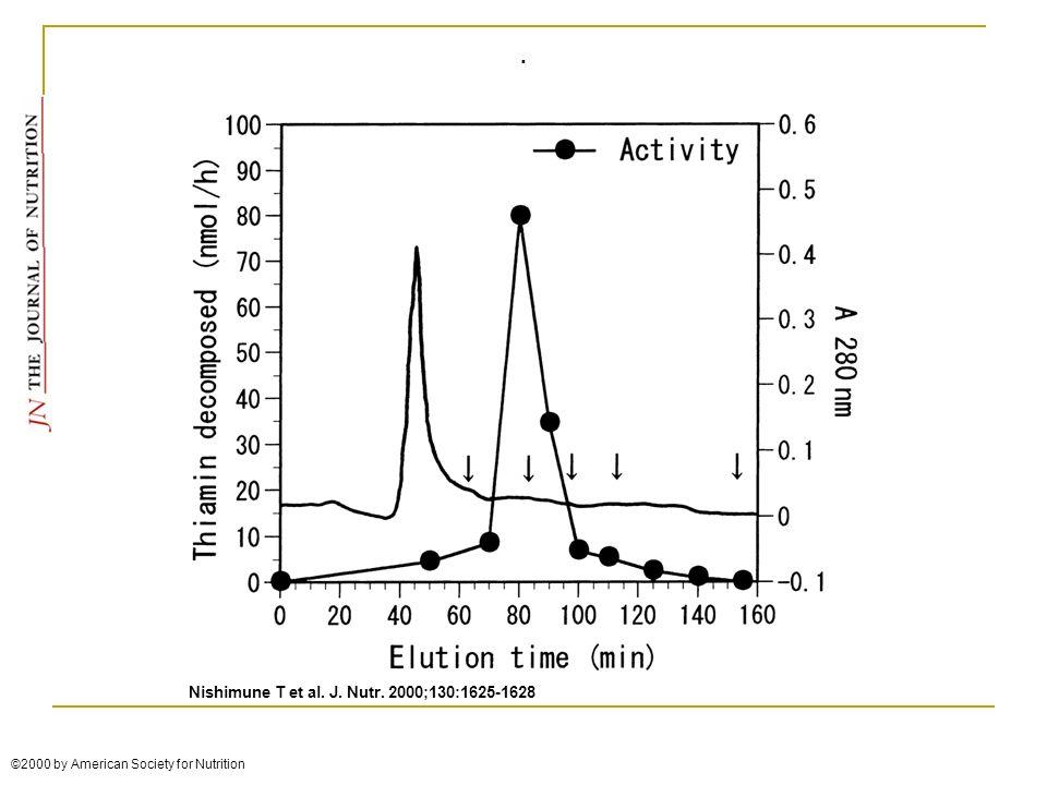. Nishimune T et al. J. Nutr. 2000;130:1625-1628