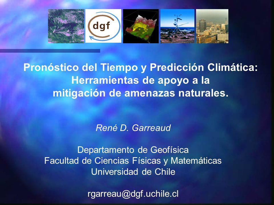 Pronóstico del Tiempo y Predicción Climática: