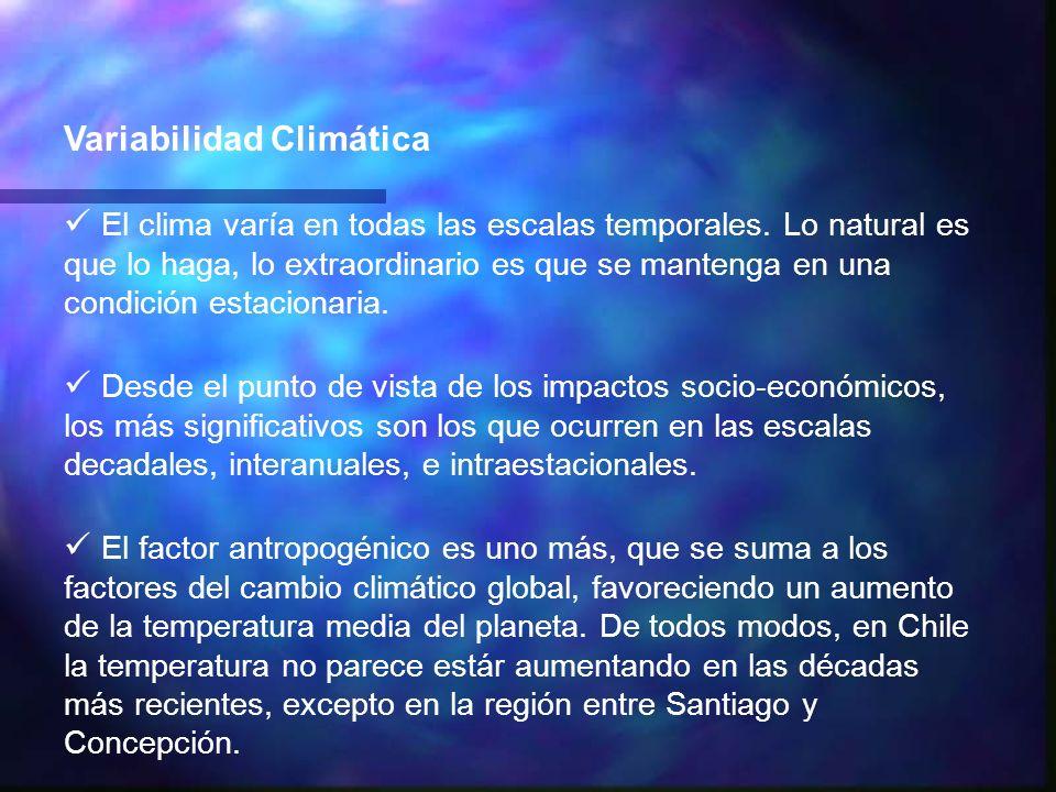 Variabilidad Climática