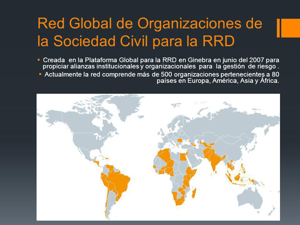 Red Global de Organizaciones de la Sociedad Civil para la RRD