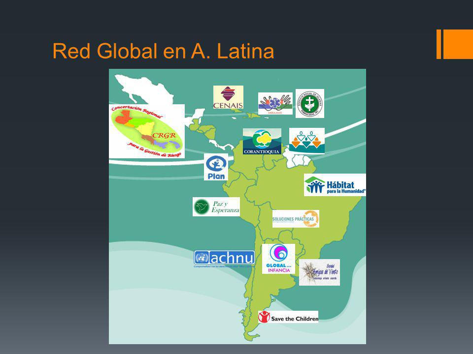 Red Global en A. Latina