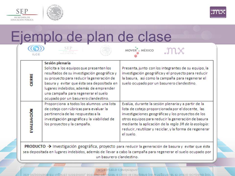 Ejemplo Para Elaborar Un Plan De Clase Ciencias