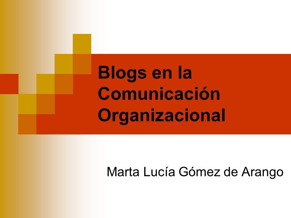 Blogs en la Comunicación Organizacional