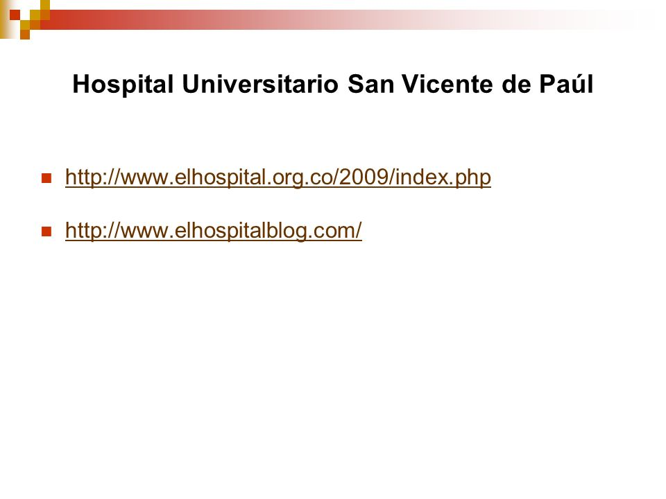 Hospital Universitario San Vicente de Paúl