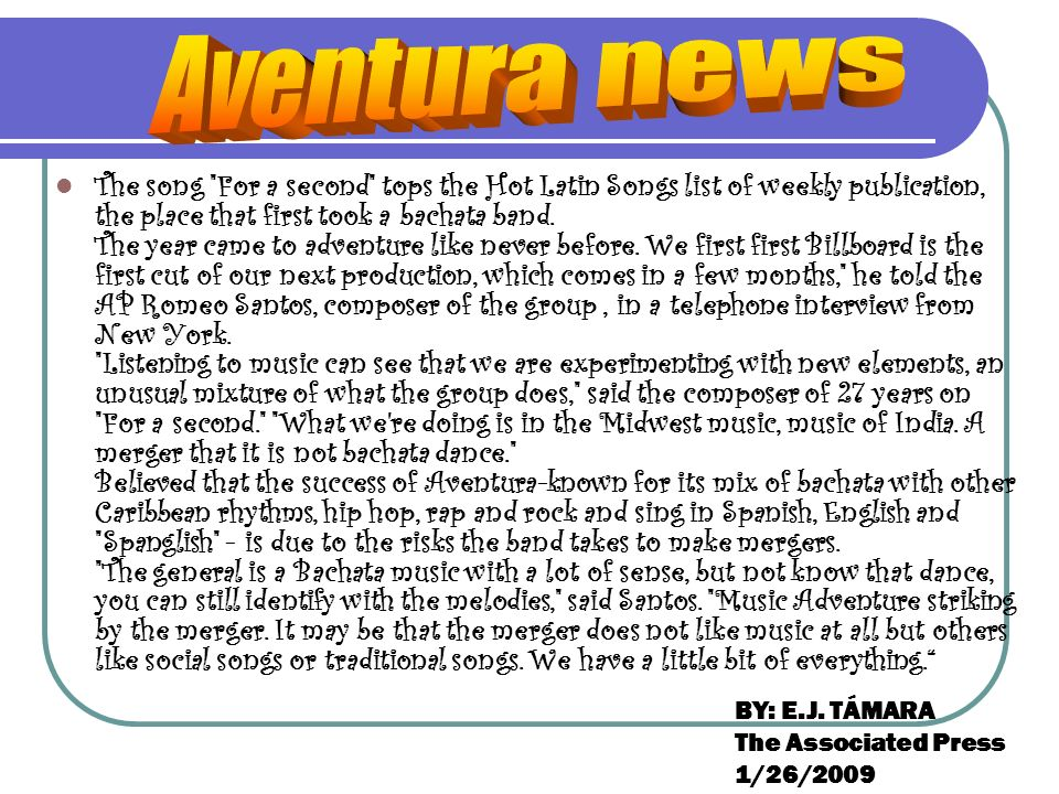 Aventura news