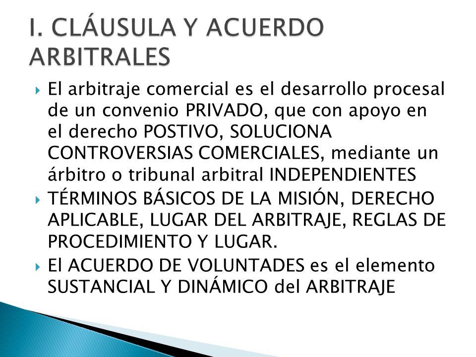 Arbitraje comercial internacional ppt descargar for Validez acuerdo privado clausula suelo