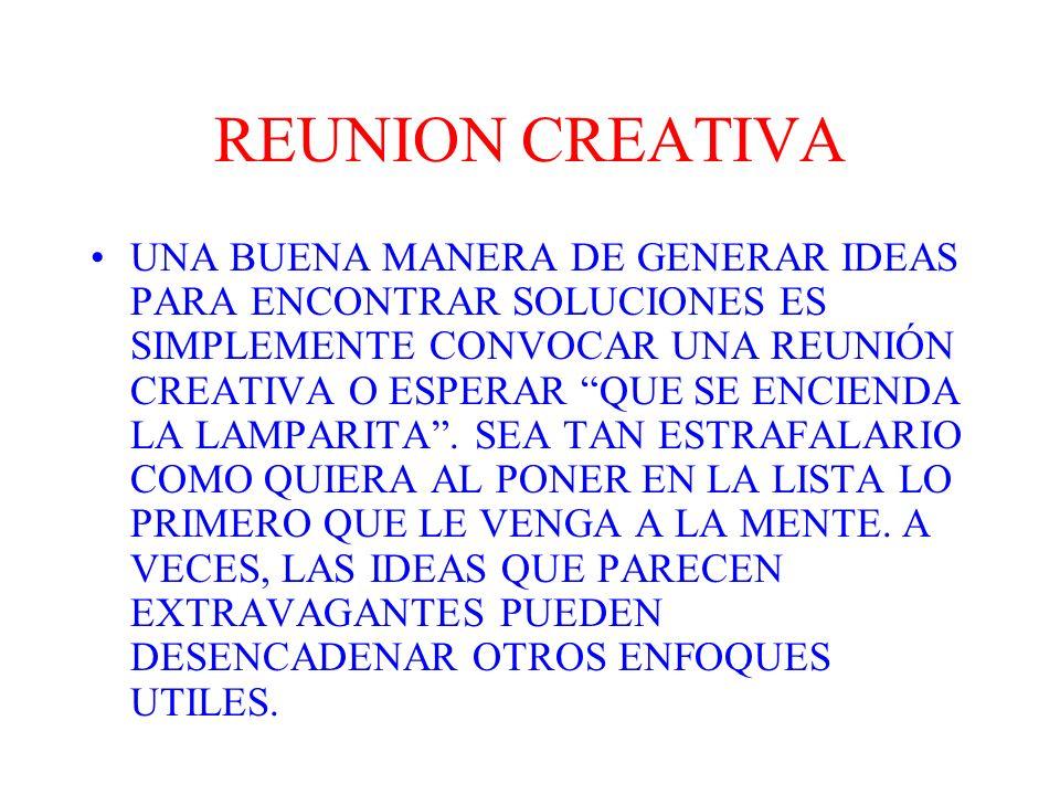 REUNION CREATIVA