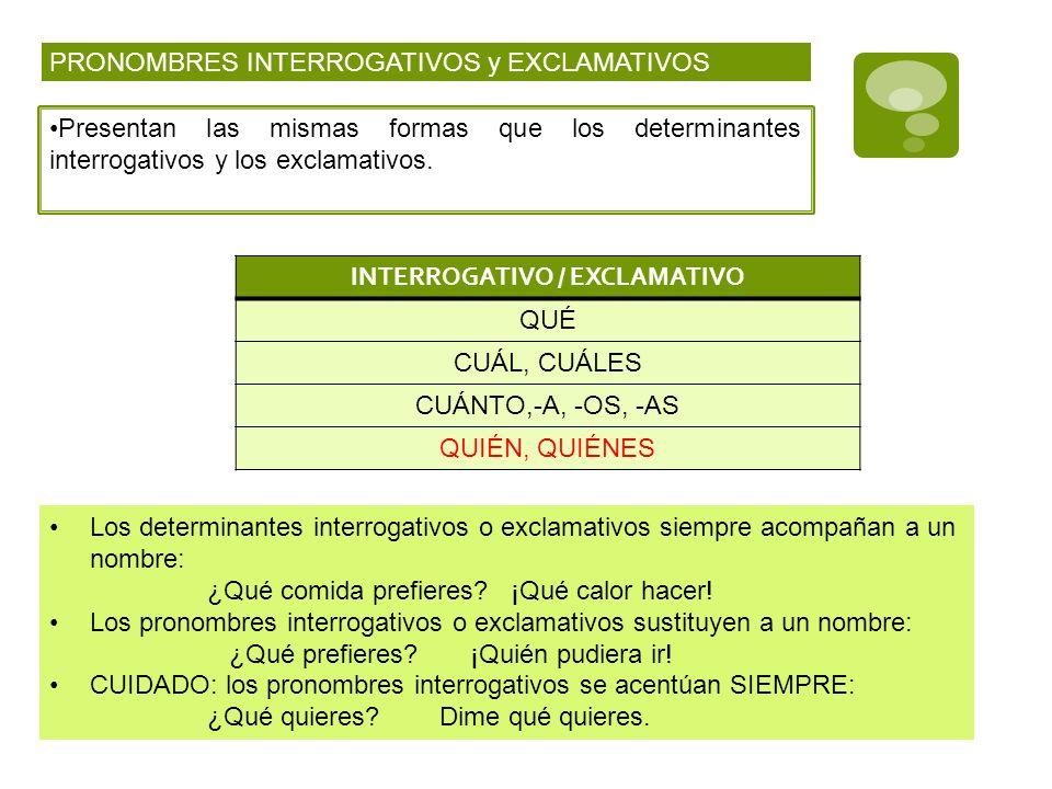 INTERROGATIVO / EXCLAMATIVO
