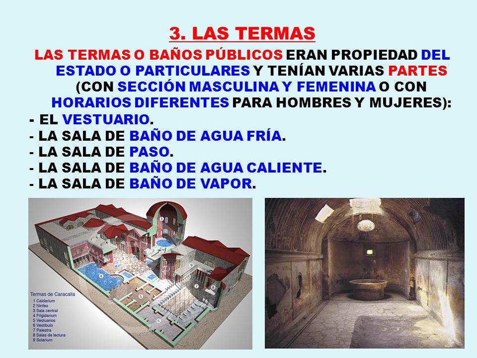 3. LAS TERMAS - EL VESTUARIO.