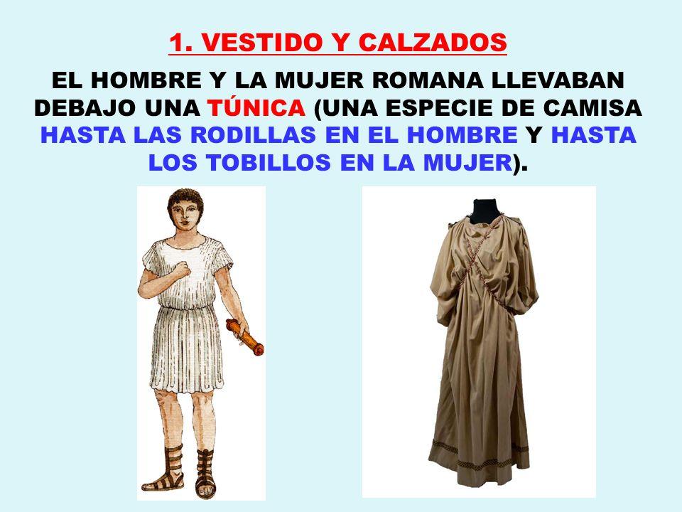 1. VESTIDO Y CALZADOS