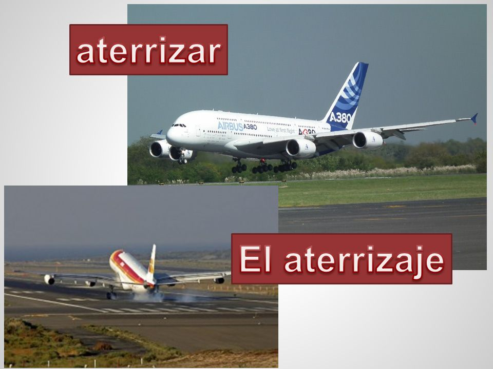 aterrizar El aterrizaje