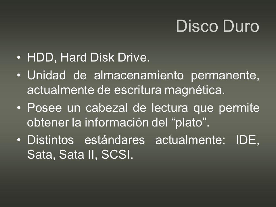 Disco Duro HDD, Hard Disk Drive.