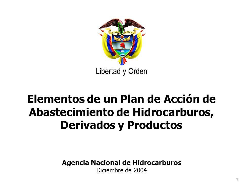 Agencia Nacional de Hidrocarburos Diciembre de 2004
