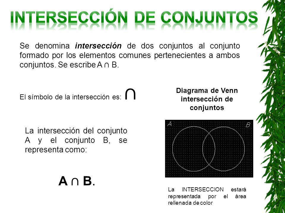 Unidad 2 conjuntos ppt descargar 13 interseccin de conjuntos diagrama de venn ccuart Images