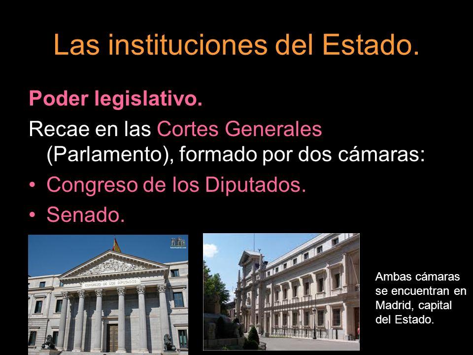 Las instituciones del Estado.