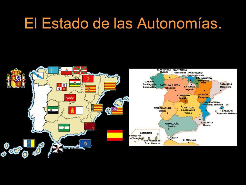 El Estado de las Autonomías.