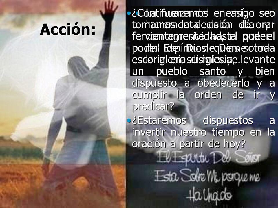 Acción: