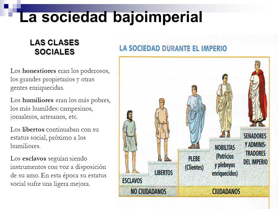 La sociedad bajoimperial
